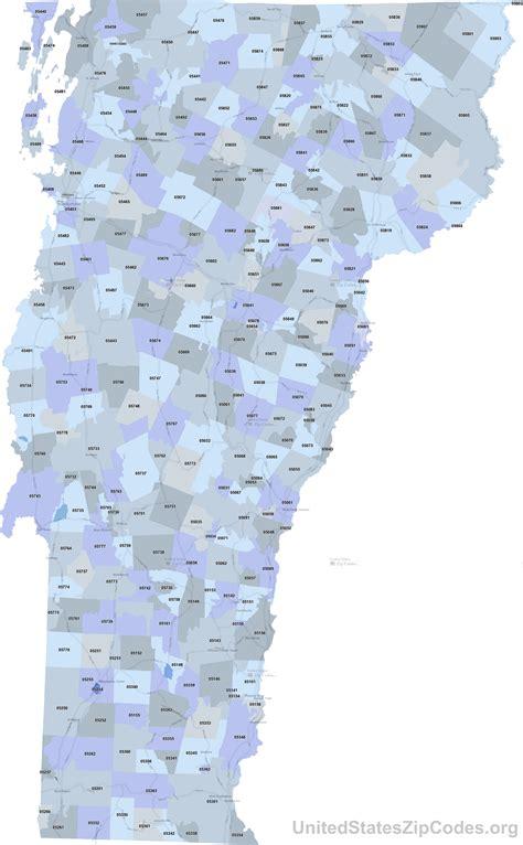 printable zip code maps