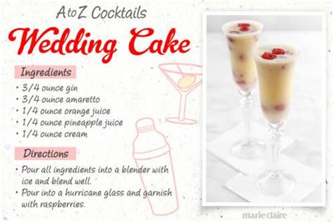 Wedding Cake Drink by Wedding Cake Drink Recipe Drink Up