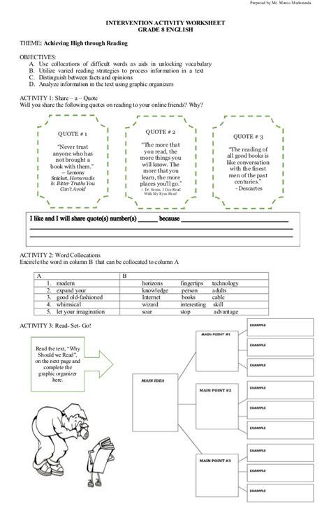 free printable english comprehension worksheets grade 8 english comprehension passages with questions for class 8