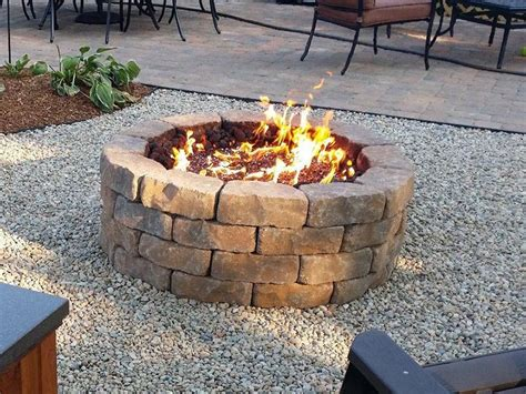 cinder block firepit cinder blocks pit pit design ideas