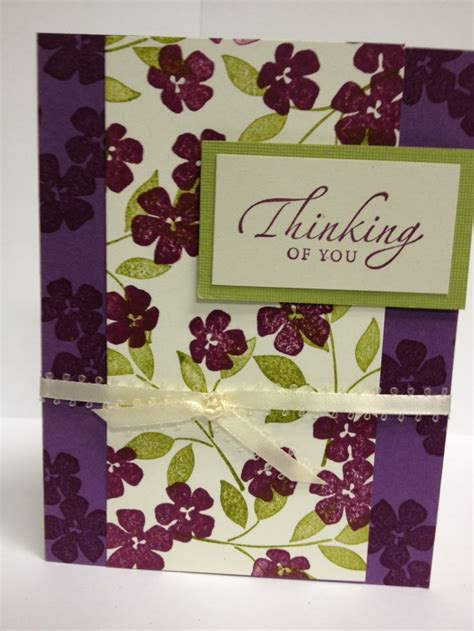 Handmade Thinking Of You Cards - handmade card thinking of you handmade cards