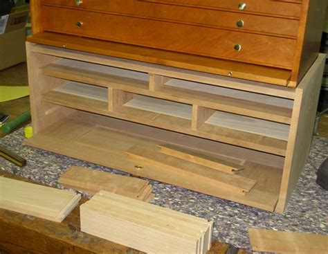 cherry tool chest  built
