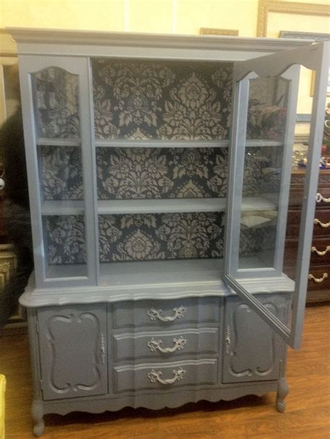 Best 25  China cabinet painted ideas on Pinterest   China cabinets, Painted china hutch and Blue