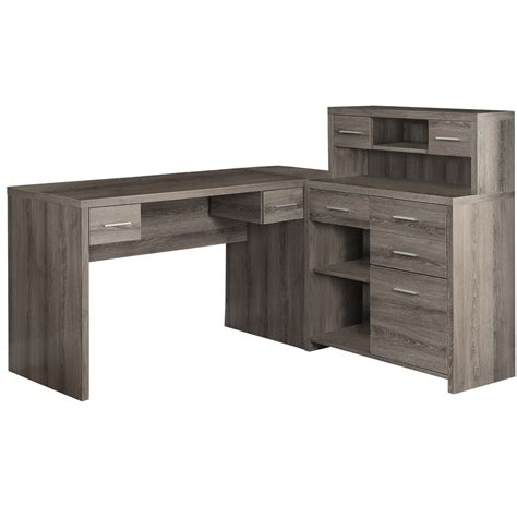 Coaster Yvette Collection L Shaped Reversible Desk Colors by L Shaped Desk With Drawers Home Furniture Ideas
