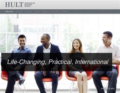 Hult Mba If You Already An Hult Mib by Hult International Business School Masters Overview 2012
