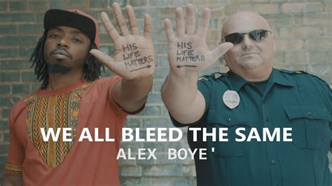 we all bleed the same color we all bleed the same healing america edition