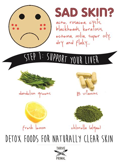 Foods That Detox Your Skin how to fix acne naturally