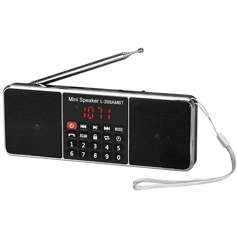 Speaker Mp3 Radio bluetooth wireless speaker mini portable bass sd tf