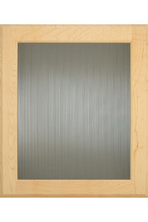 Thin Reed Cabinet Glass   Decora Cabinetry