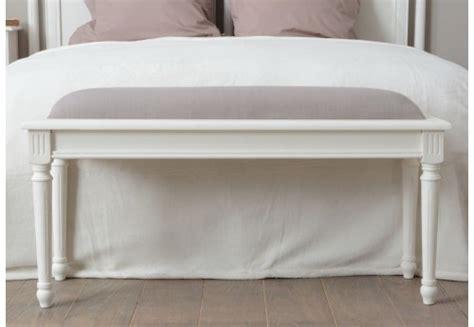 bout de lit romantique assise taupe agathe amadeus amadeus
