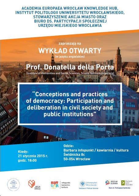 donatella della porta wyk蛯ad prof donatella della porta www wroclaw pl