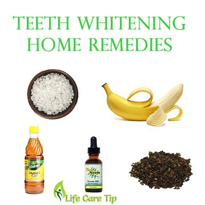 4 effective teeth whitening home remedies
