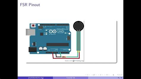 sensitive resistor with arduino matlab arduino tutorial 16 sensitive resistor fsr calibration and visualization