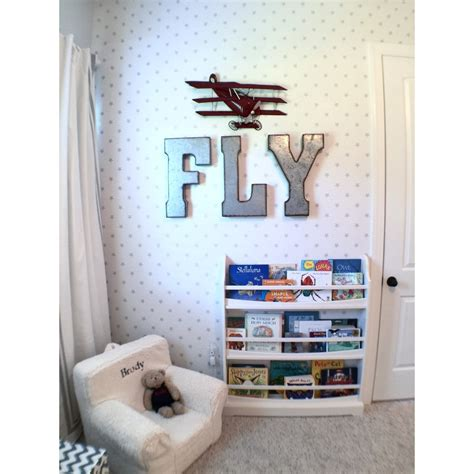 Boys Bedroom Decorating Ideas Airplane Themed Toddler Room Project Nursery