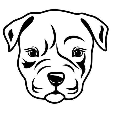 pitbull dog svg cuttable designs