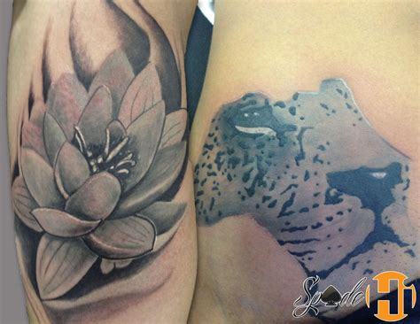 spade tattoos by spade best tattoos tattoos flower gray africa