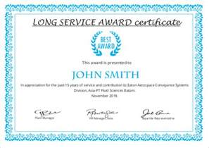 years of service award certificate templates printable certificate template 46 adobe illustrator