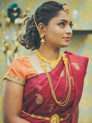 bridal hairstyles chennai a professional stylist weaves magic in wedding hairstyles
