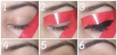 the paper mulberry cosmetics winged eyeliner the perfect eyeliner stencil cover hair makeup