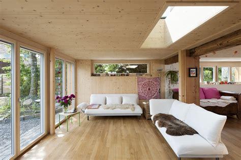 wohnzimmer holz f jud architektur ag