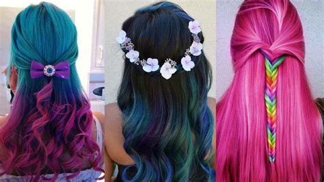 amazing hair color best amazing hair color transformation beautiful