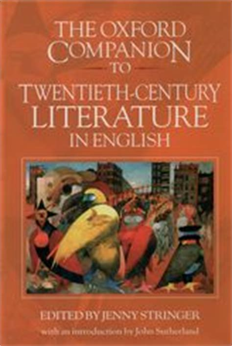 themes of 20th century literature opinions on 20th century in literature