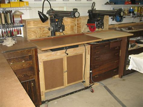 Radial Arm Saw Table by Radial Arm Saw Cabinet Radial Arm Saw