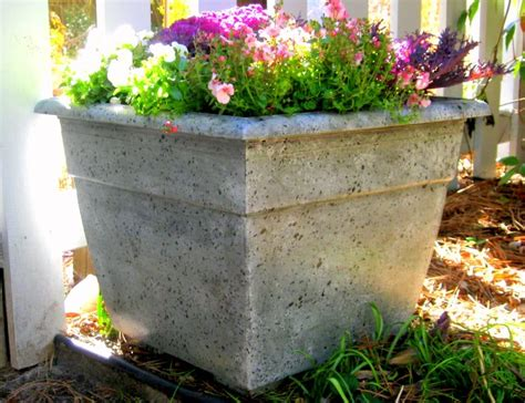 Painting Concrete Planters by Diy Home Staging Tips How To Faux Finish A Plastic Flower Pot