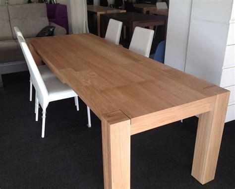 tavoli in rovere massiccio tavolo rovere naturale massiccio allungabile produzione