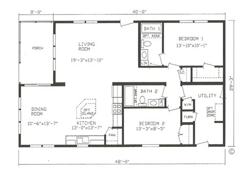 small mobile home plans farmhouse modular home house plans cltsd in small mobile