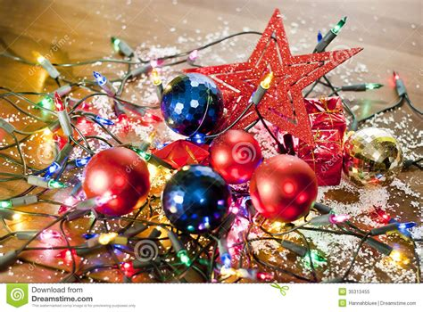 Christmas Mess Royalty Free Stock Photo   Image: 35313455