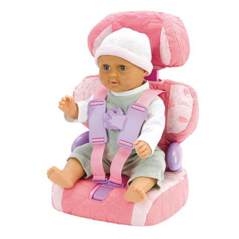 doll booster seat casdon dolls car booster seat baby huggles chair