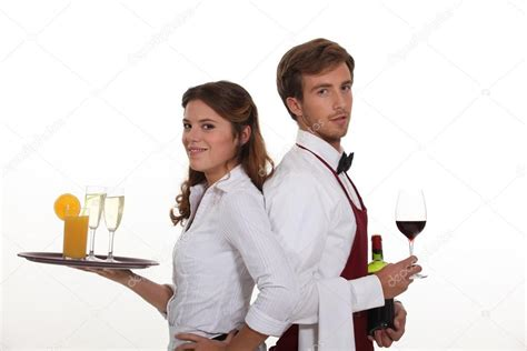 waiter and waitress stock photo 169 photography33 15442147