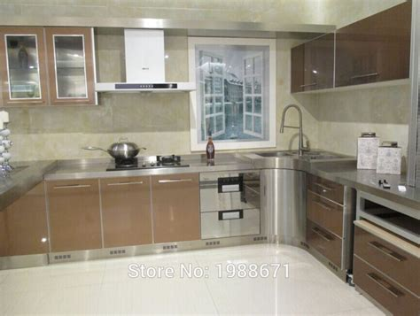 steel cabinets kitchen glass metal kitchen cabinet doors stainless steel kitchen