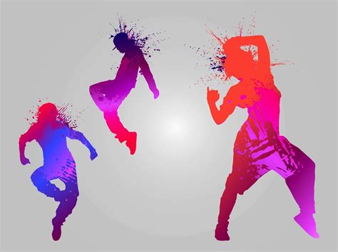 printable dance images dancing silhouettes vector art graphics freevector com