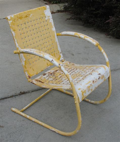 Metal Patio Chairs Vintage by 169 Best Images About Vintage Metal Porch Chairs On