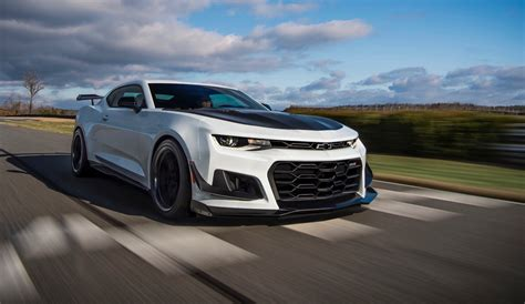 chevrolet mile of cars 2018 chevy camaro zl1 1le track performance