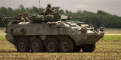 armored military vehicles canadian military cancelling 2 billion order for new