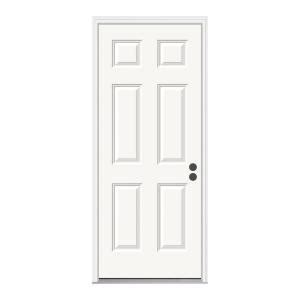 jeld wen panel prehung steel entry door from home depot