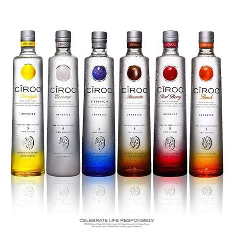 A Drink In A Bottle And Flvored 1 Hour Detox by List Of All Ciroc Flavors Search Drinks