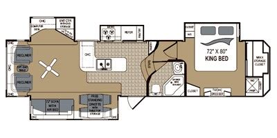grand junction 5th wheel floor plans 2010 grand junction fifth wheel series m 355rl specs and