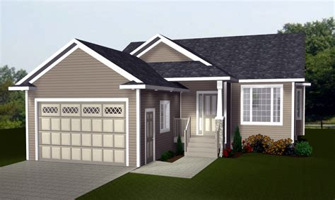 Bungalow Plans With Garage by Bungalow House Plans With Attached Garage Bungalow House
