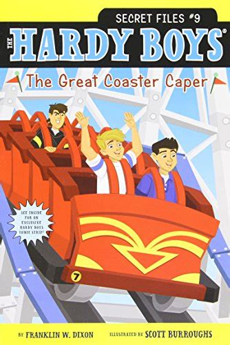 the great dictionary caper books the great coaster caper hardy boys the secret files