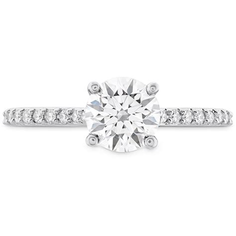 Dia Engagement Rings by Camilla Hof Engagement Ring Dia Band