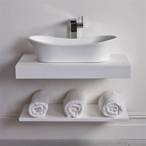 Sterling Bath Shower Units milano stone countertop vanity shelf basin shelf