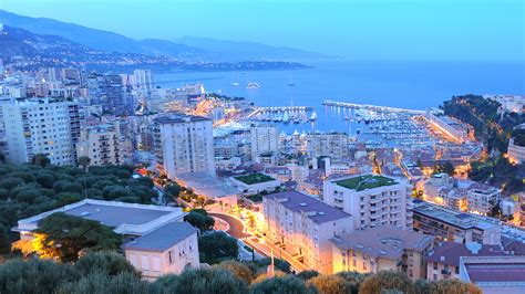 Or Hd Ultra Hd 4k Time Lapse Stock Footage Monaco Ville Panoramic View View From The Hill