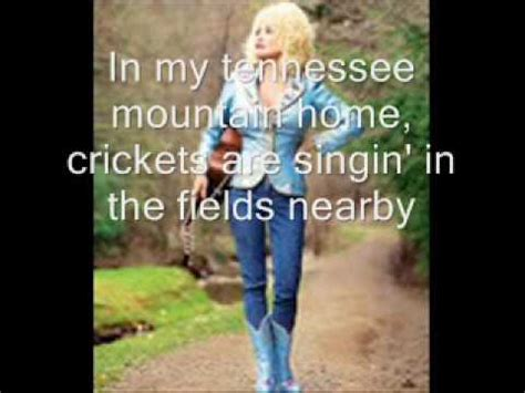 my tennessee mountain home by dolly parton lyrics on