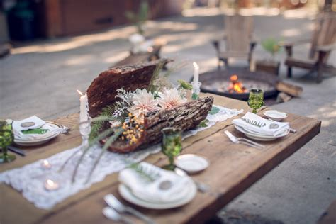 Forest Wedding Concept by Forest Themed Wedding Ideas The Celebration Society