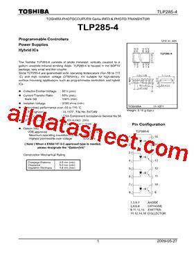 326 transistor datasheet tlp285 4 datasheet pdf toshiba semiconductor