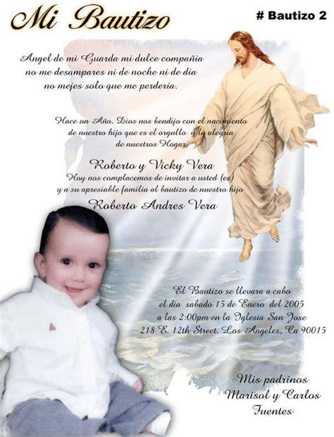 invitaciones de bautizo bautismo espanol invitacion 17 best images about invitaciones y tarjetas invitations
